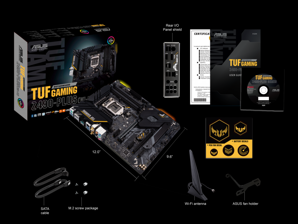 Here's Your First Look At ASUS' Entire Z490 Motherboard Lineup 74