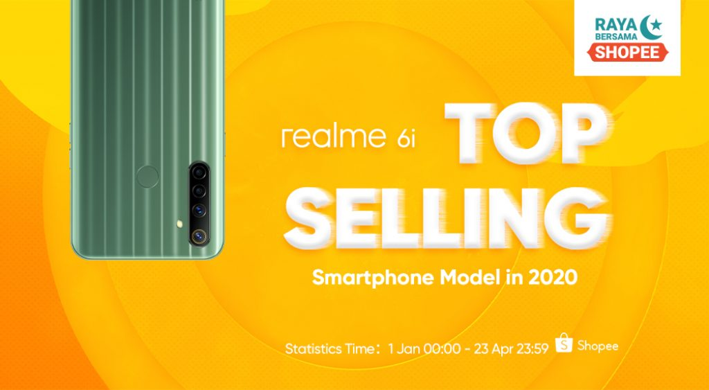 realme Achieves Four Recognitions During realme 6i First Sale 6