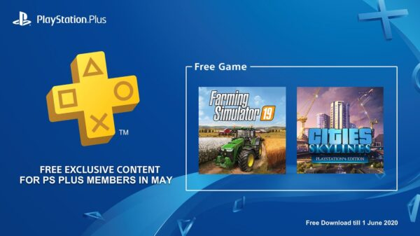 PS Plus May 2020 free games