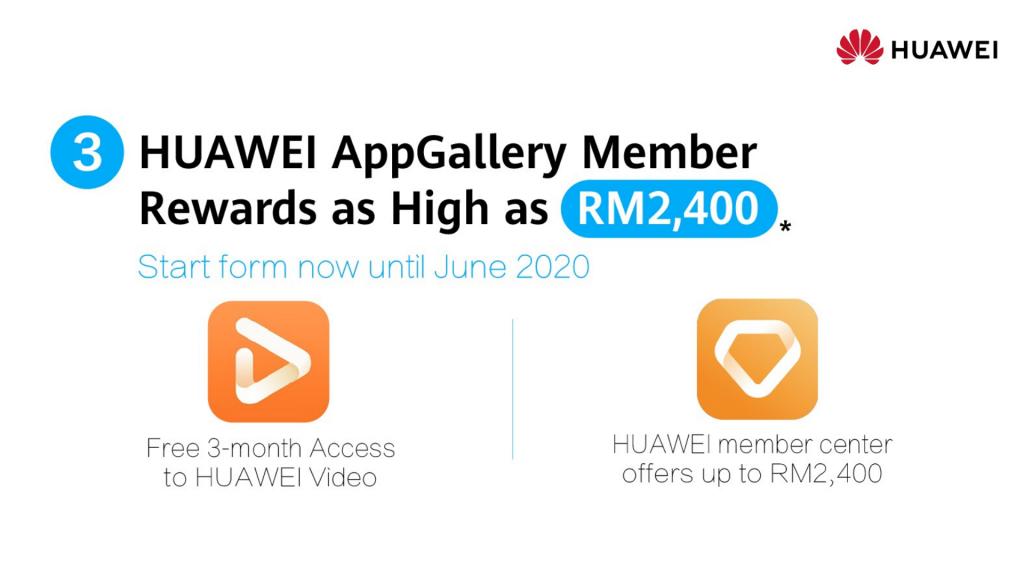 Huawei P30 Pro new pricing app gallery rewards