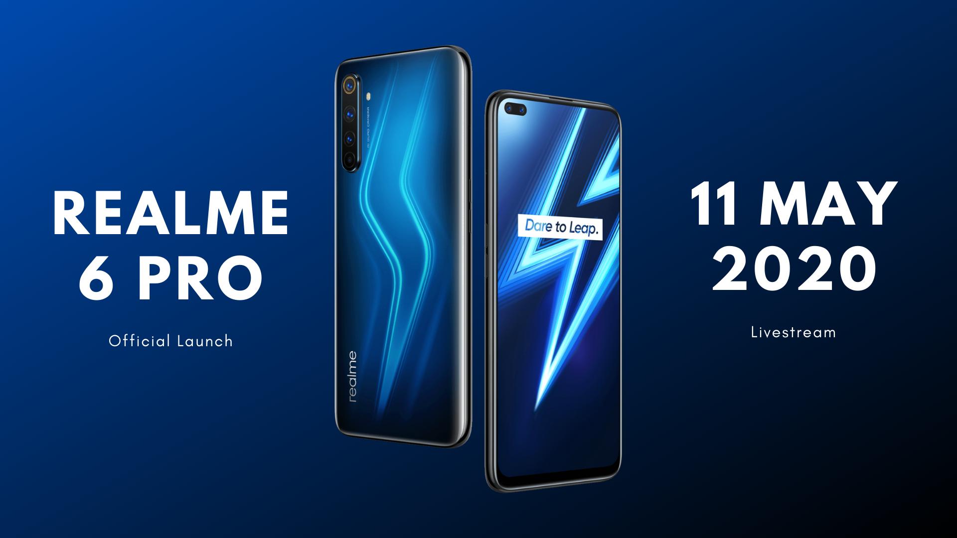realme 6 pro official launch