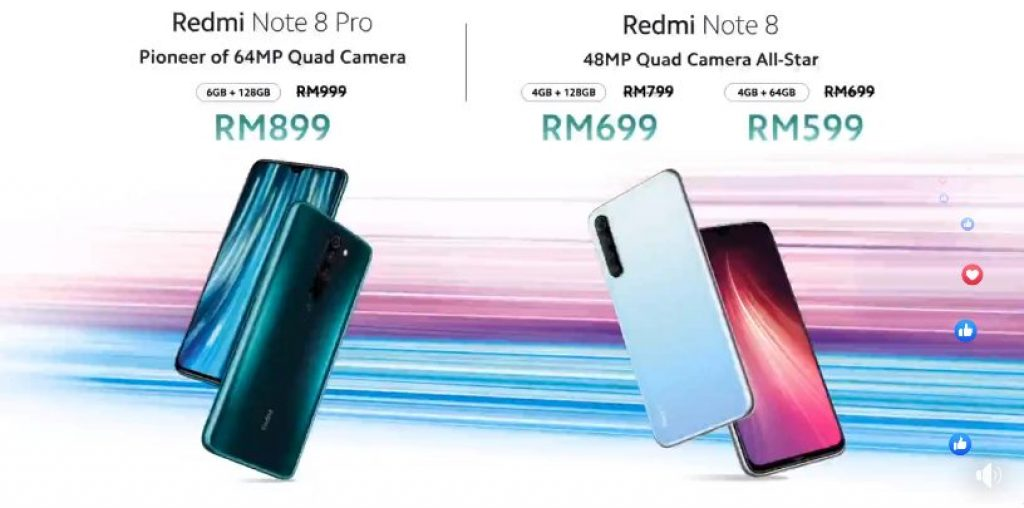Xiaomi Redmi Note 8 Series Repriced To Start From RM599 16