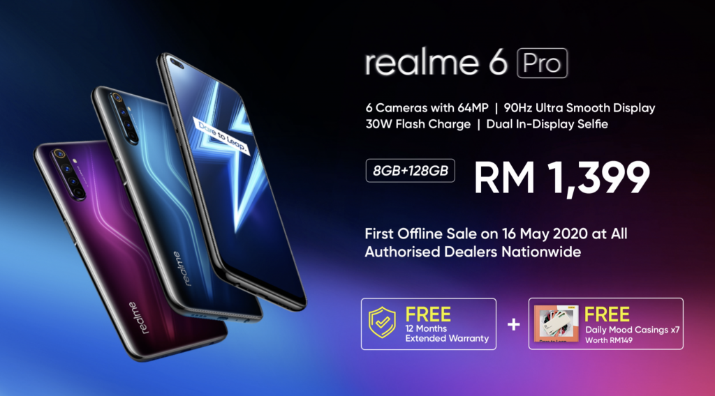 realme 6 Pro Officially Debuts At RM1,399; 64MP Camera + 90Hz Refresh Rate 5