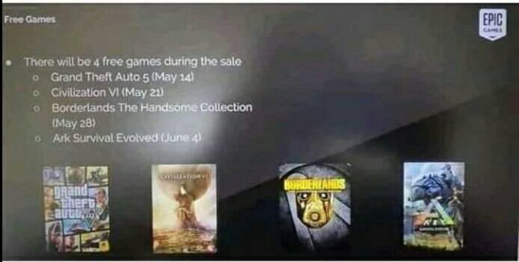 Mystery Game EPIC Games