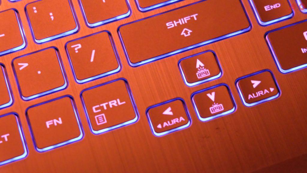 TUF Gaming A15 arrow keys