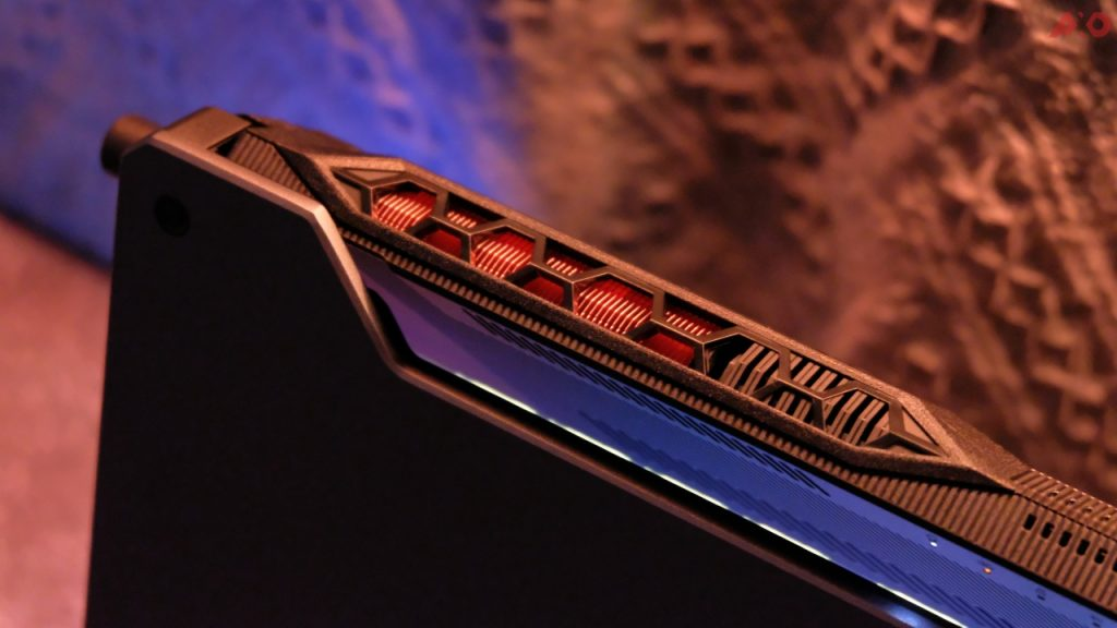 TUF Gaming A15 vent exhaust