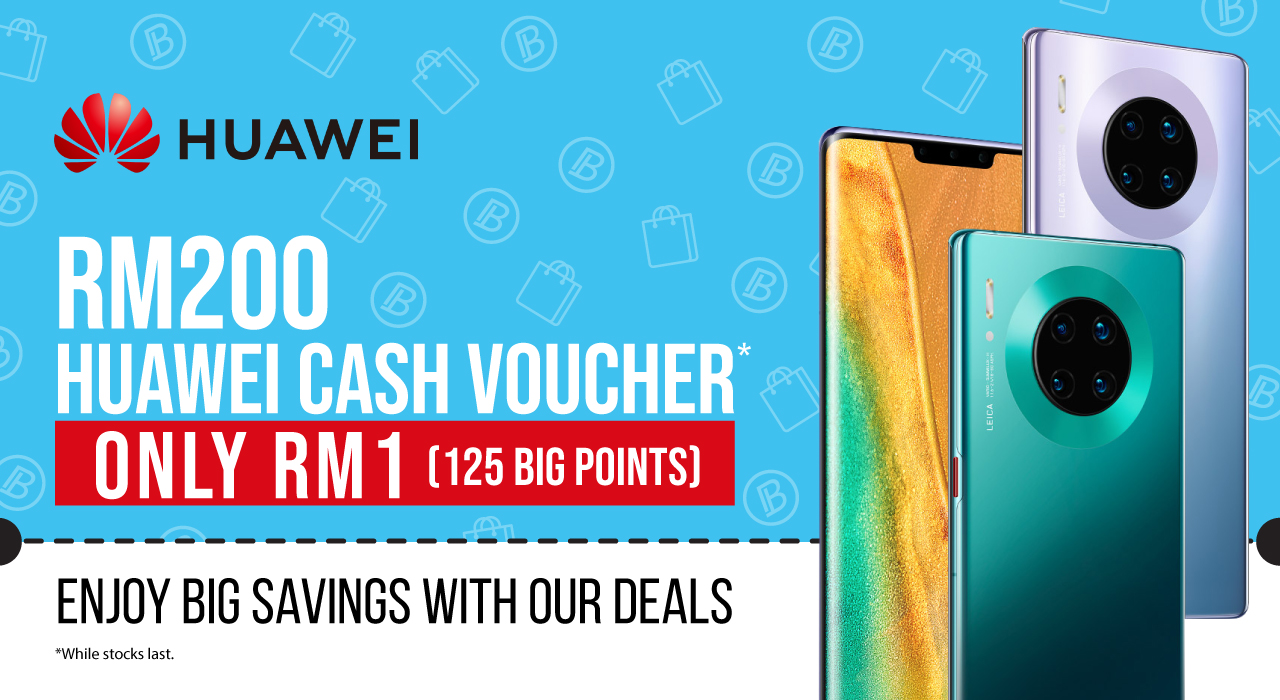 Huawei AirAsia BIG Loyalty App