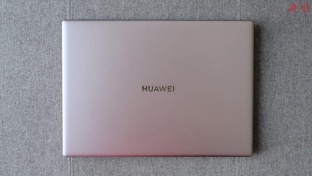 Huawei MateBook X Pro top