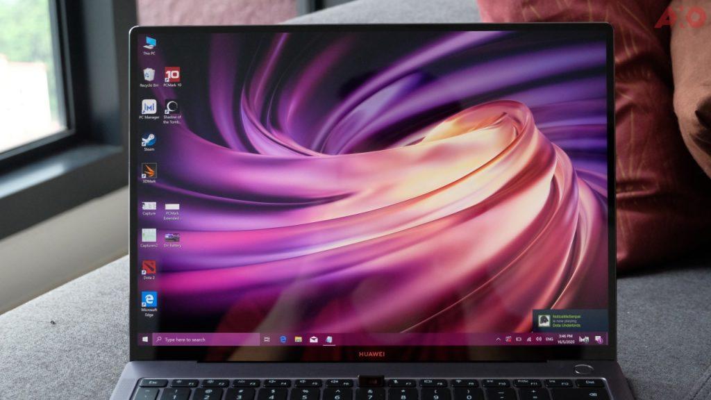 Huawei MateBook X Pro display touchscreen