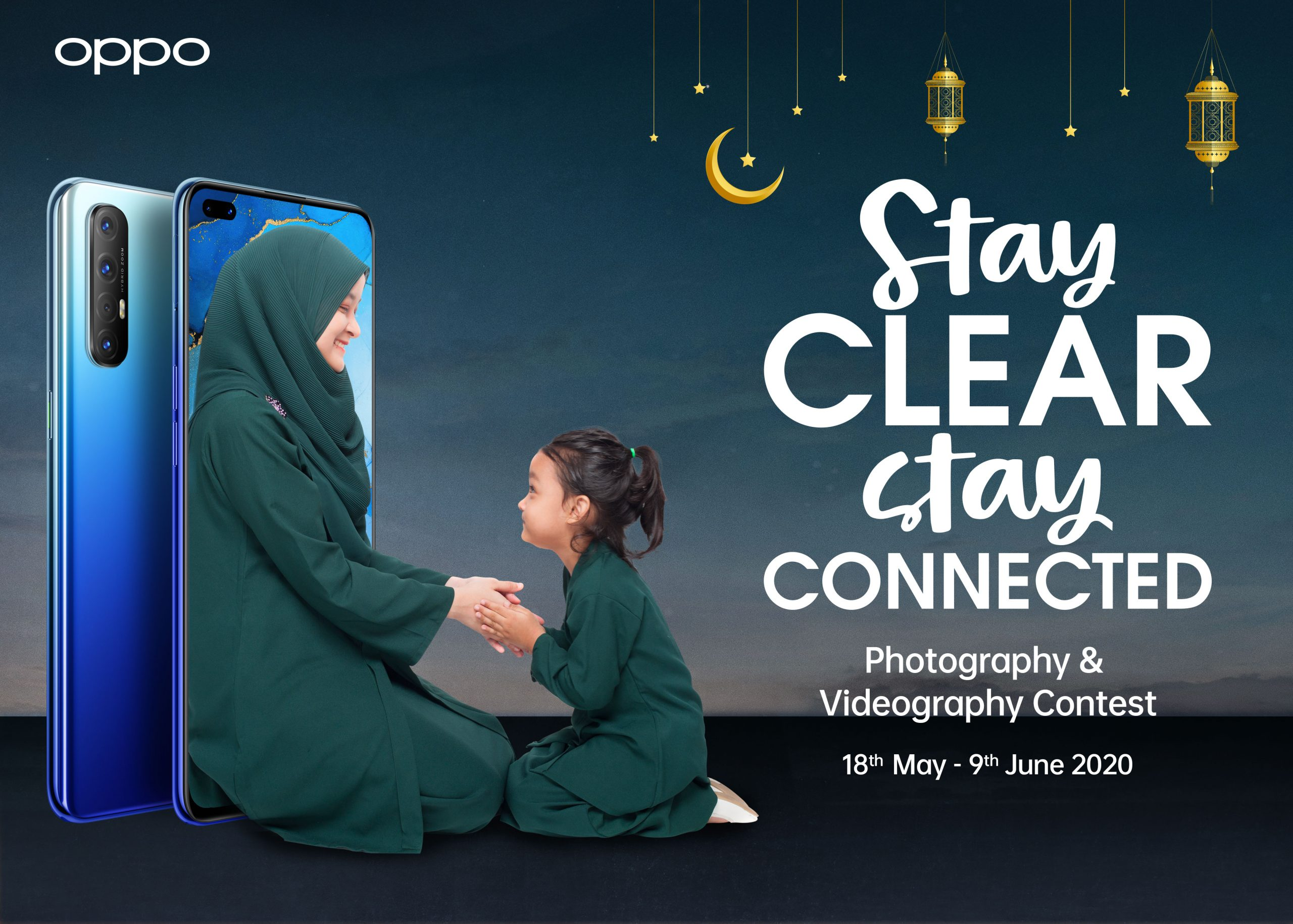 OPPO Stay Clear Stay Connected
