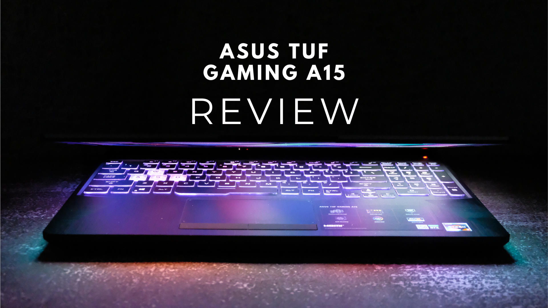 Asus Tuf Gaming A15 Review Definitely Tuf Enough The Axo