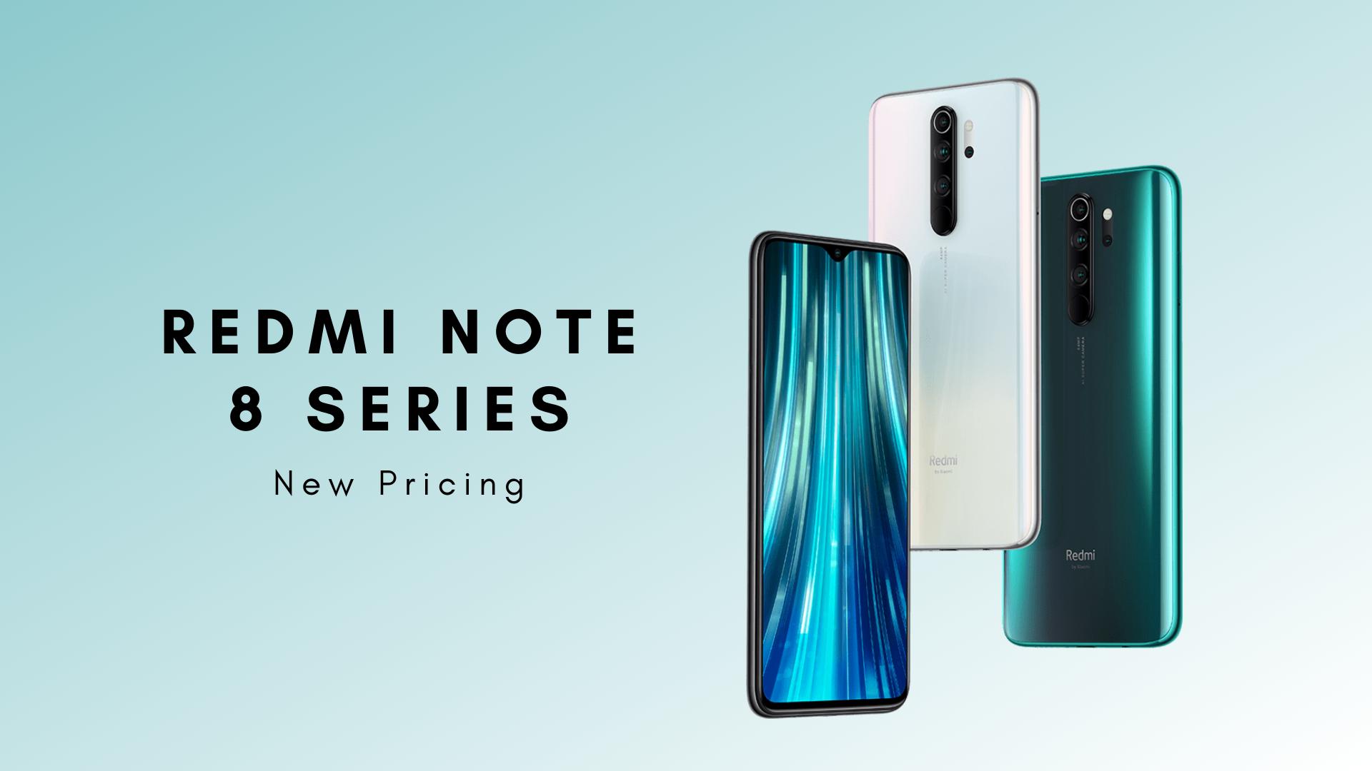 redmi note 8 series new price