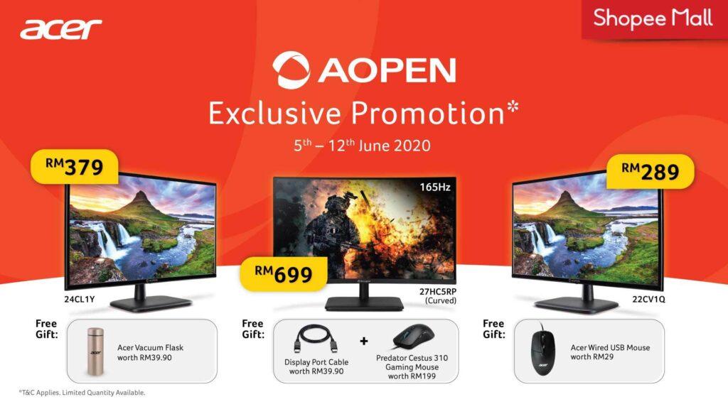 Acer AOpen Monitors