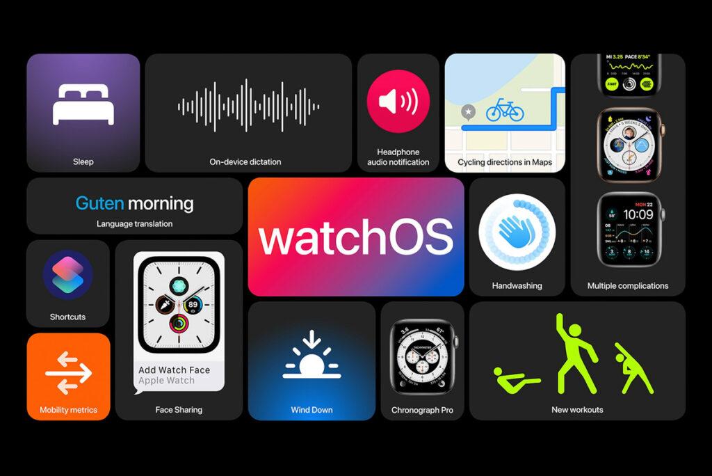 WatchOS 7 Apple OS