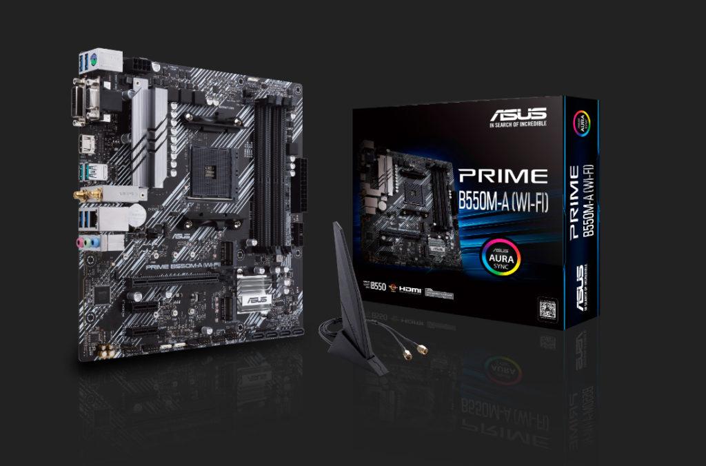 asus AMD B550 M-A prime