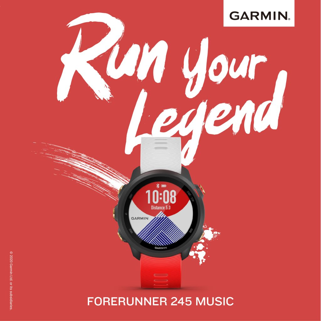 Garmin Forerunner 245 New Music Japan Edition Will Available in Malaysia 6