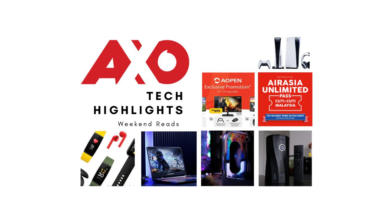 AXO Tech Highlights Weekend Reads