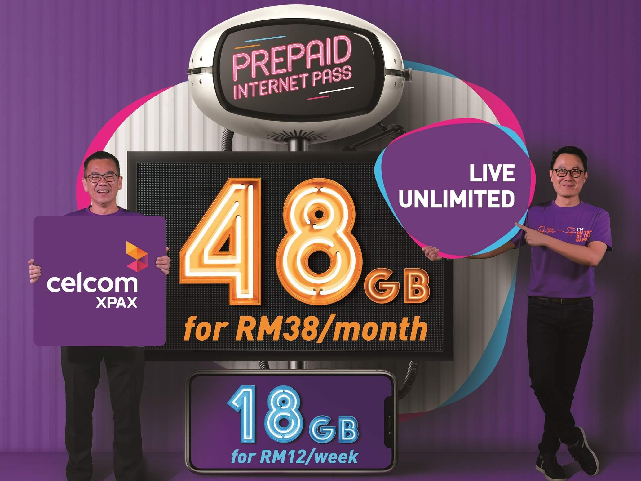 Celcom Xpax: Truly Unlimited Prepaid Internet From RM 12! 6