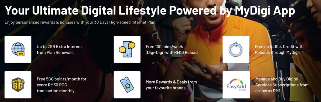 Digi Launches Prepaid NEXT; Starts From RM15 Per Month 7