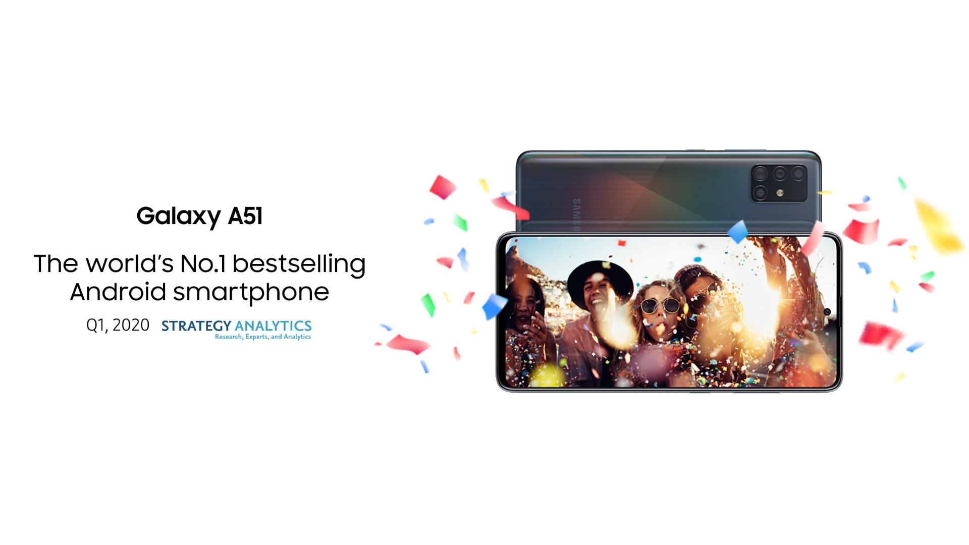 Strategy Analytics Samsung Galaxy A51