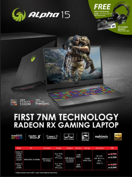 MSI Mid-Year Promo 22 June to 12th July: Grab Those Deals With Extra Free Gifts! 7
