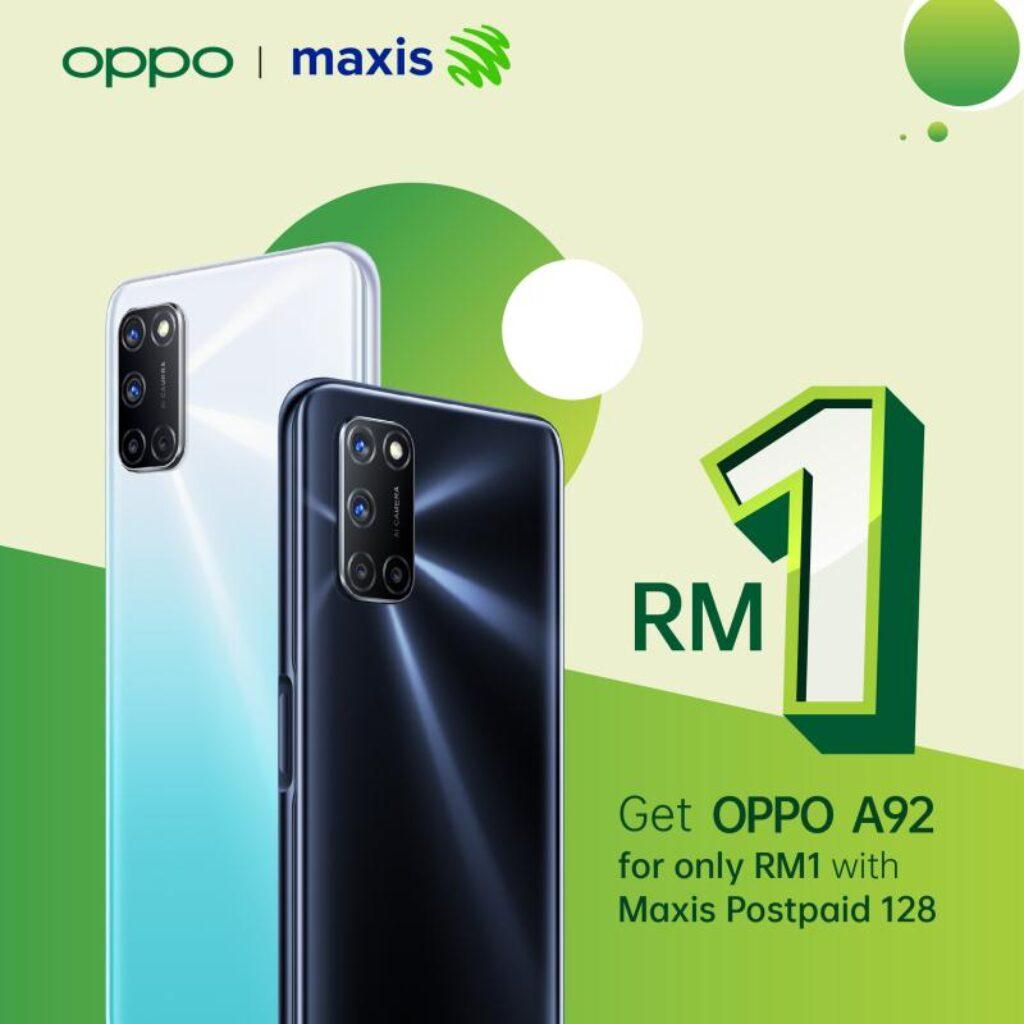 OPPO A92 - maxis