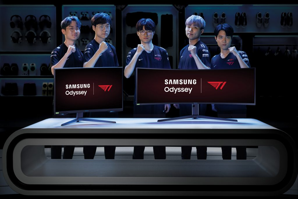 Samsung Is Now T1's Official Display Partner; Odyssey G7 & G9 Gaming Monitors Coming To Malaysia 7