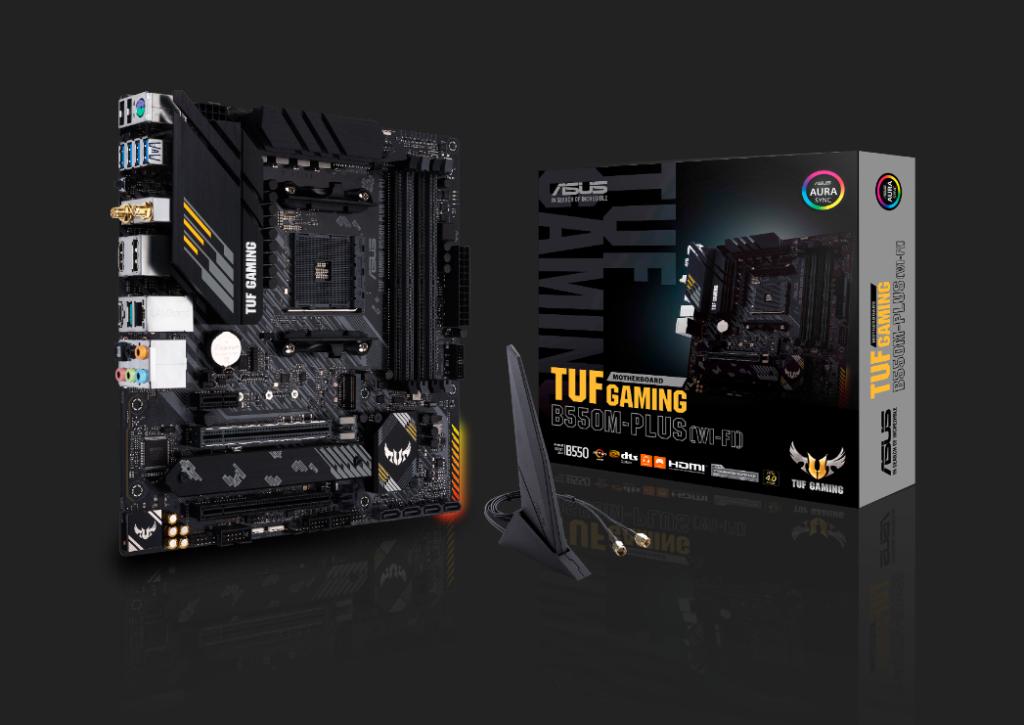 asus tuf gaming AMD B550 M Plus Wi-Fi