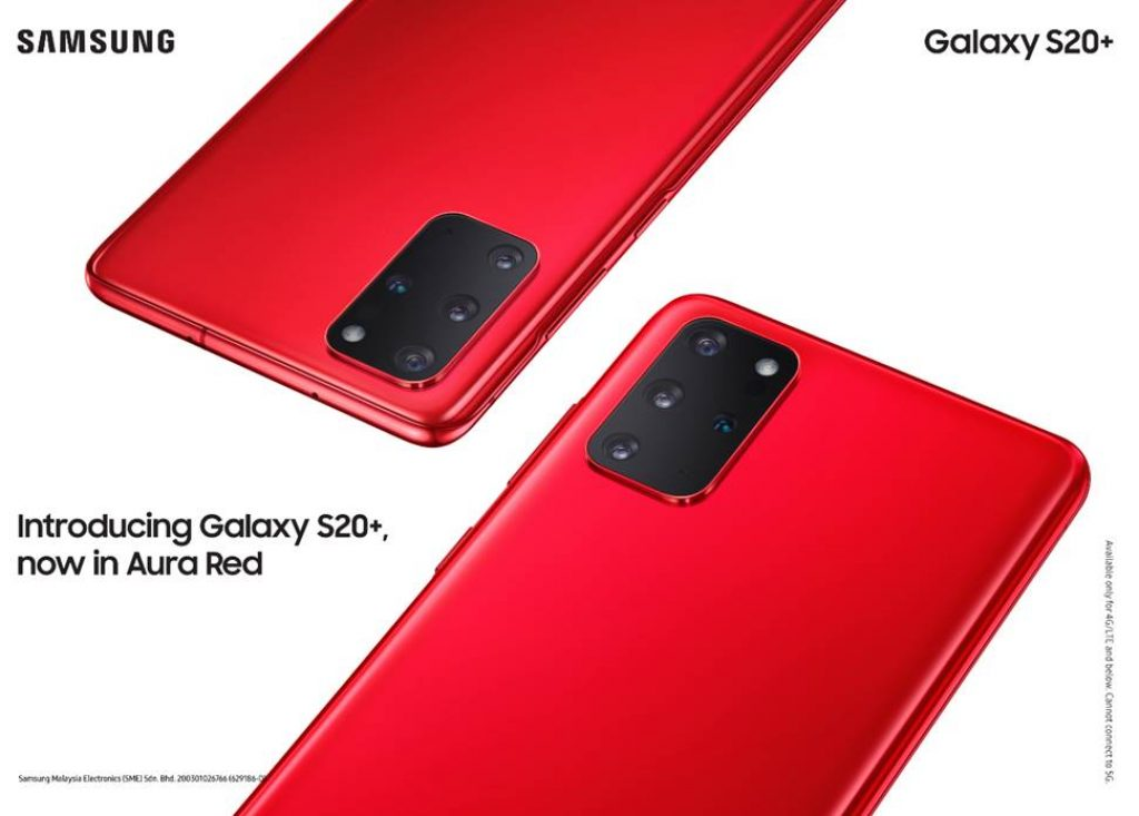 Samsung Galaxy S20+ Aura Red Arrives In Malaysia 8
