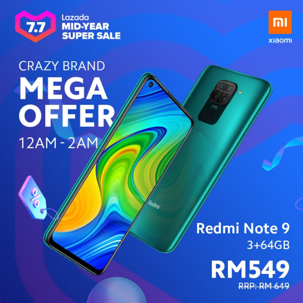 Xiaomi To Offer Great Deals In Conjunction With Lazada 7.7 Mid-Year Sale 10