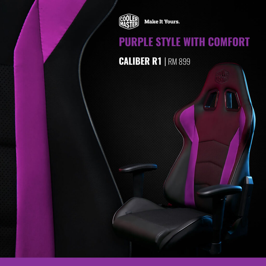 Cooler Master Unleashes Entirely New Gaming Chair Lineup In Malaysia From RM899 8