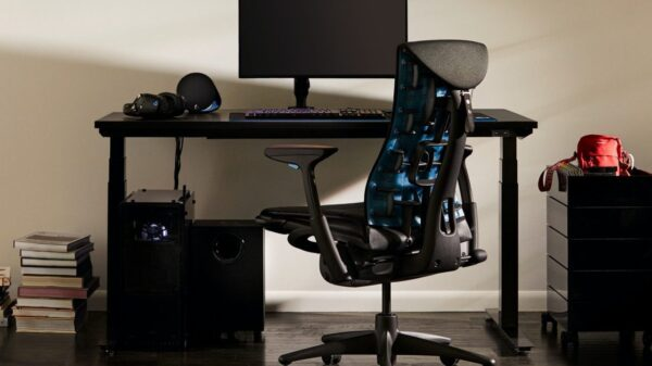 Herman Miller & Logitech Announce G Embody Ergonomic Gaming Chair 25