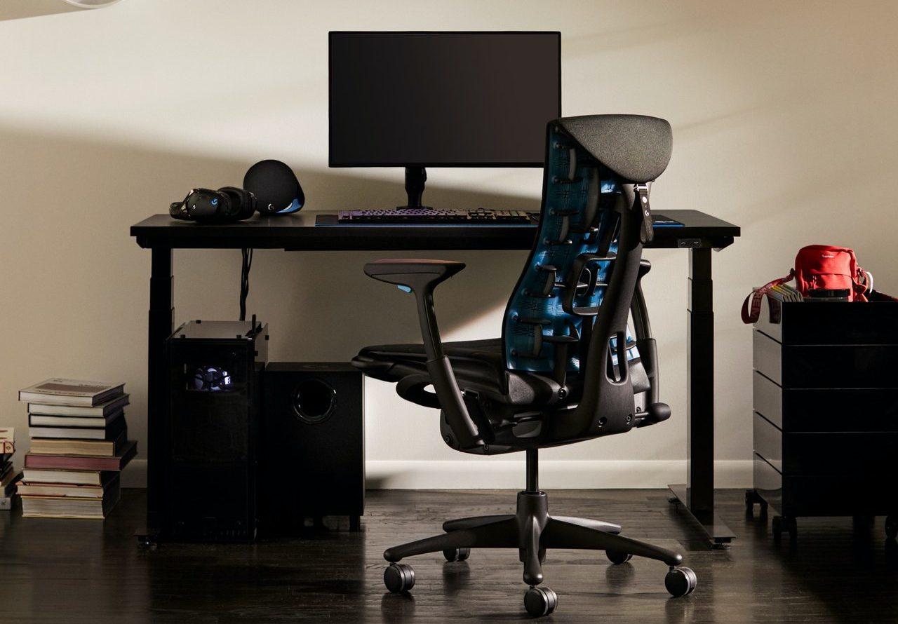 Herman Miller & Logitech Announce G Embody Ergonomic Gaming Chair 5