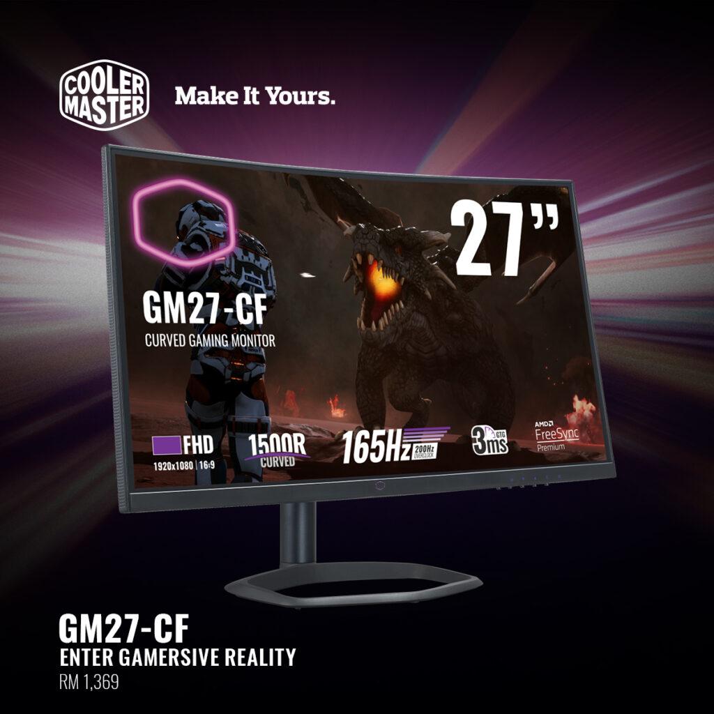 Cooler Master Gaming Monitor GM27-CF
