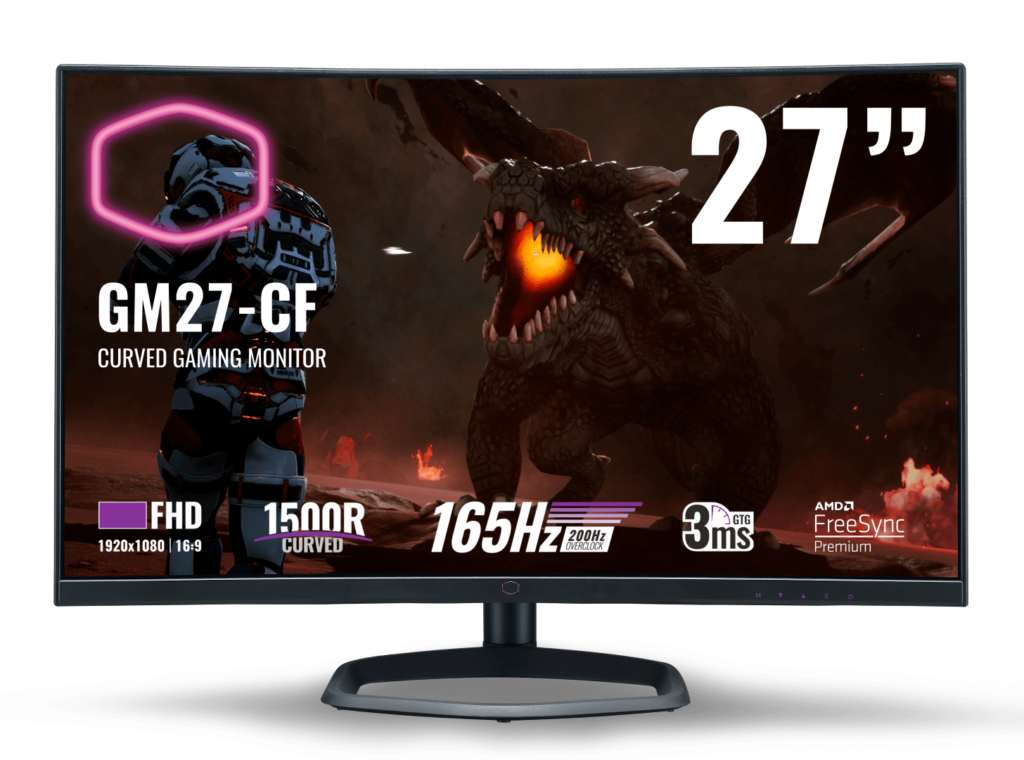 Cooler Master Gaming Monitors Now In Malaysia From RM1,369 - GM27-CF & GM34-CW 18