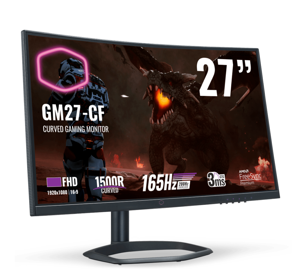 Cooler Master Gaming Monitors Now In Malaysia From RM1,369 - GM27-CF & GM34-CW 20