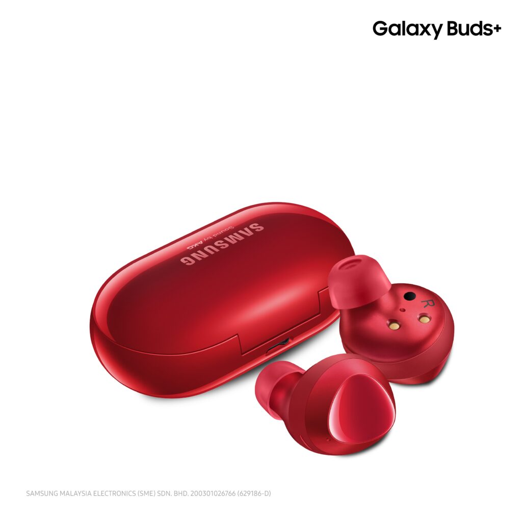 Samsung Galaxy Buds+ Red Variant Unleashed In Malaysia 5