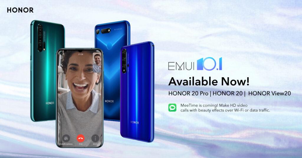 Honor EMUI 10.1 Update