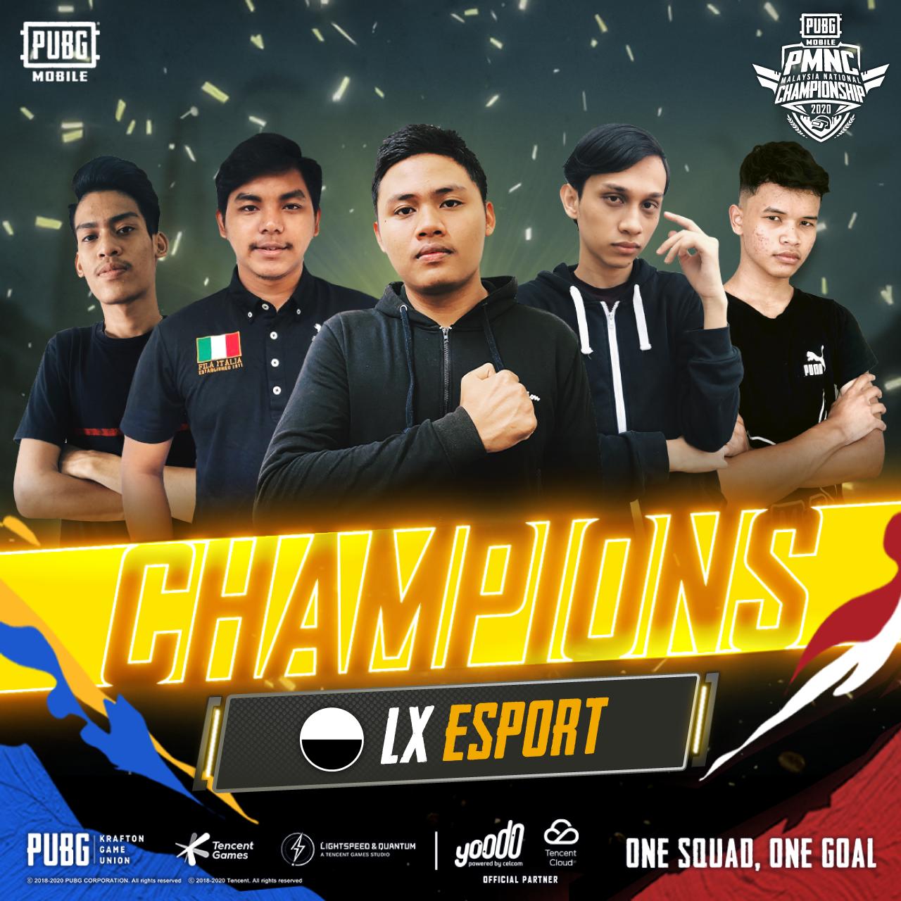 PMNC 2020 champions