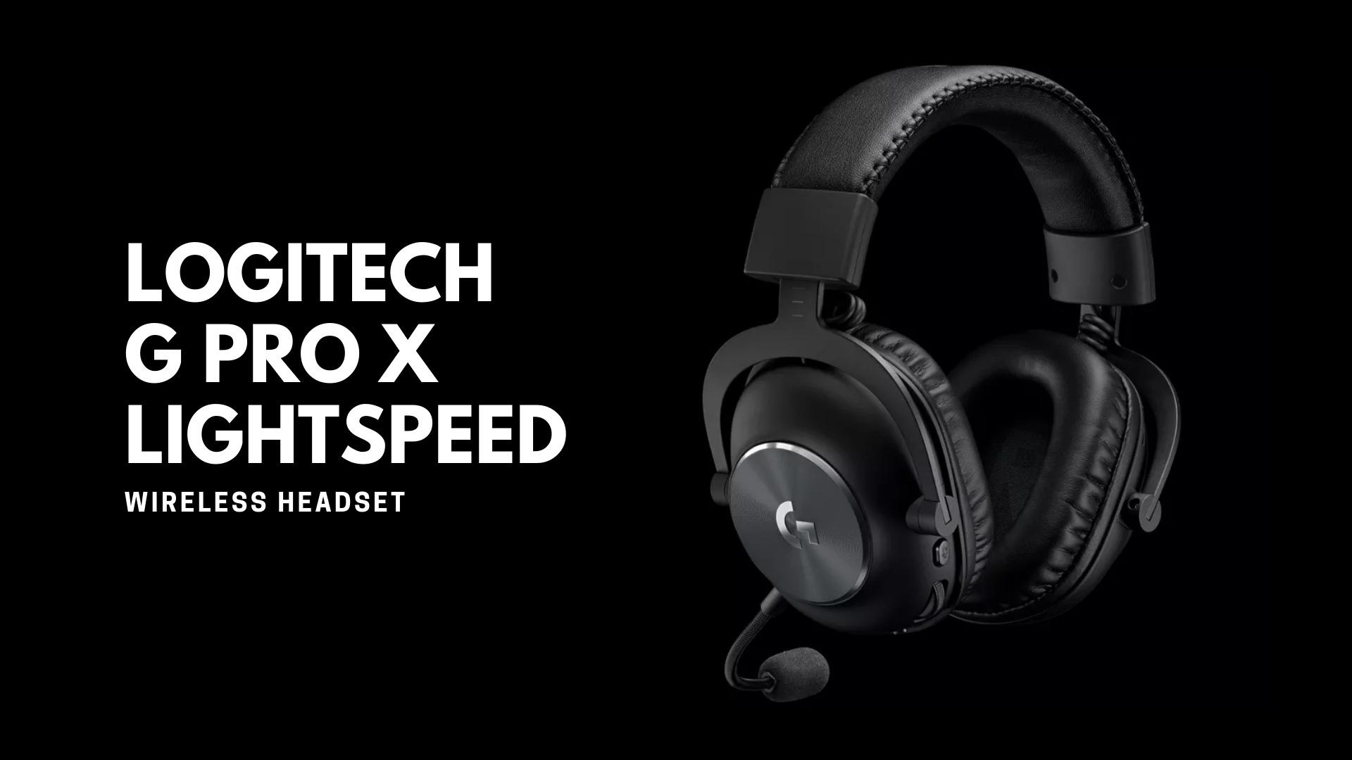 Logitech G PRO X LIGHTSPEED Wireless Headset