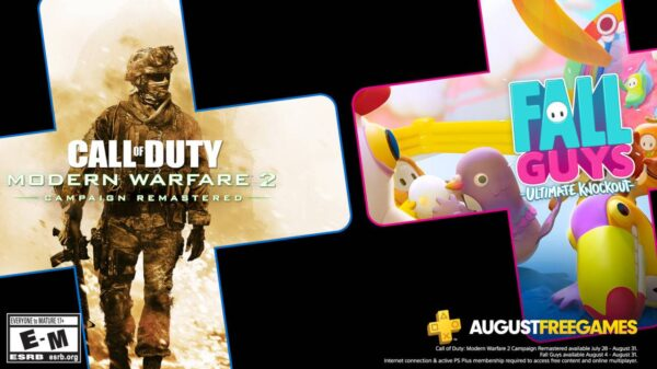 PlayStation Plus August Free Games Announced; Includes CoD: Modern Warfare 2 8