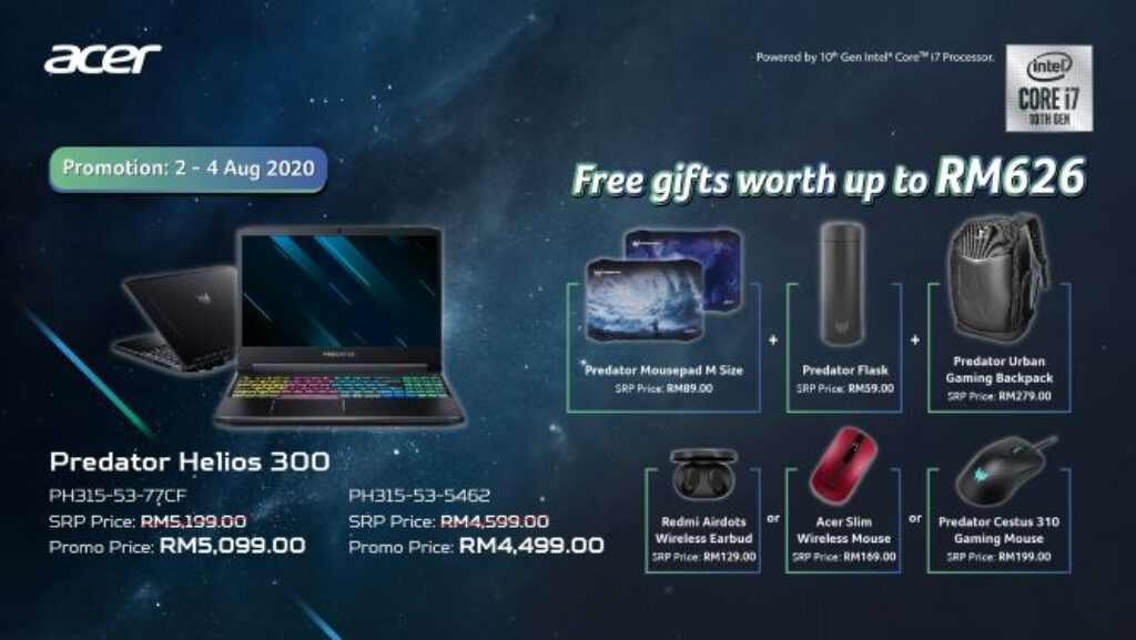 Acer Predator Helios 700 And Helios 300 With Intel 10th Gen Launched In Malaysia From RM4,599 23