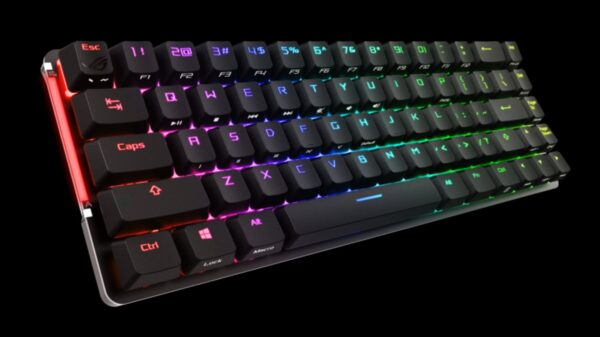 Asus Unveils ROG Falchion Gaming Keyboard 8