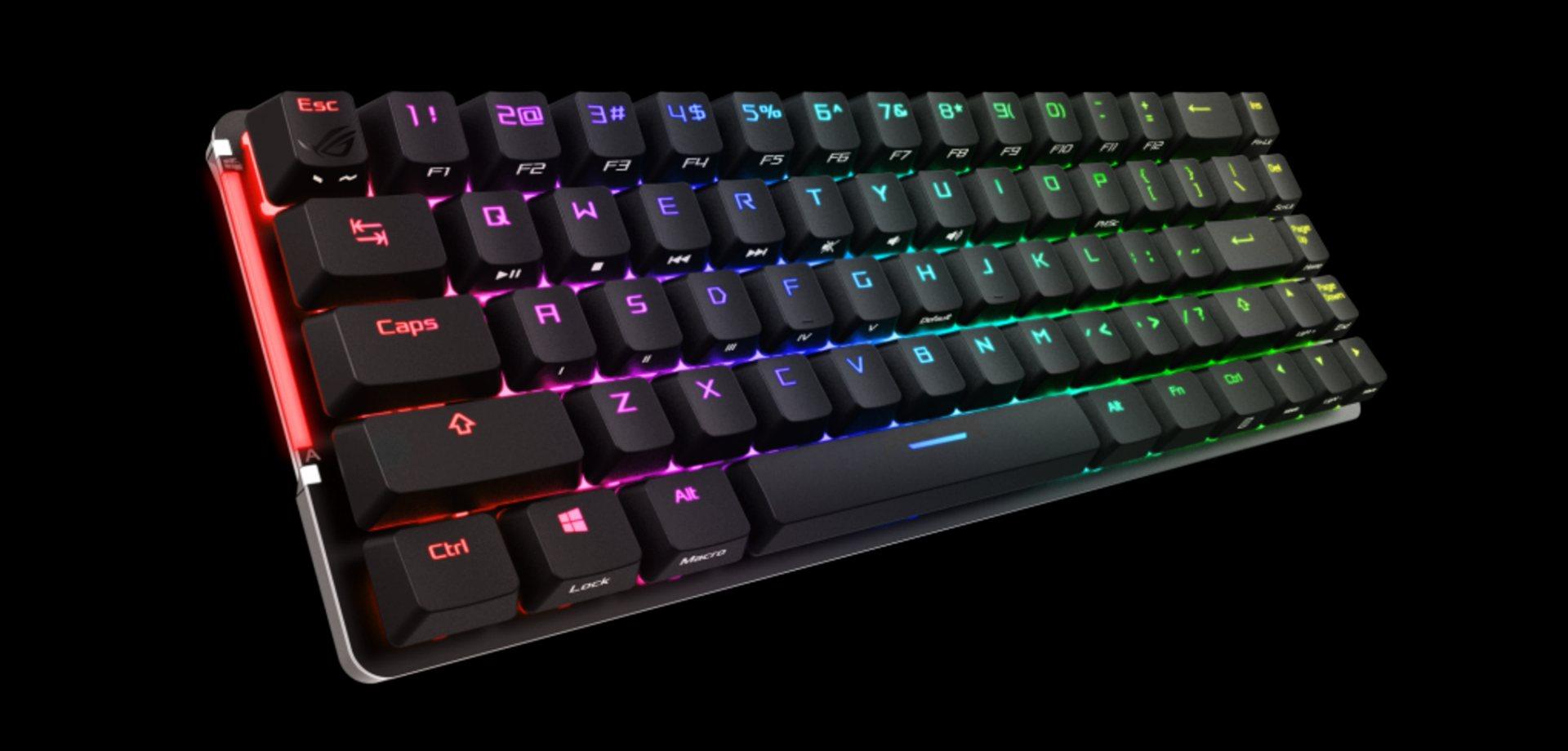 Asus Unveils ROG Falchion Gaming Keyboard 3