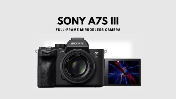 SONY A7S iii