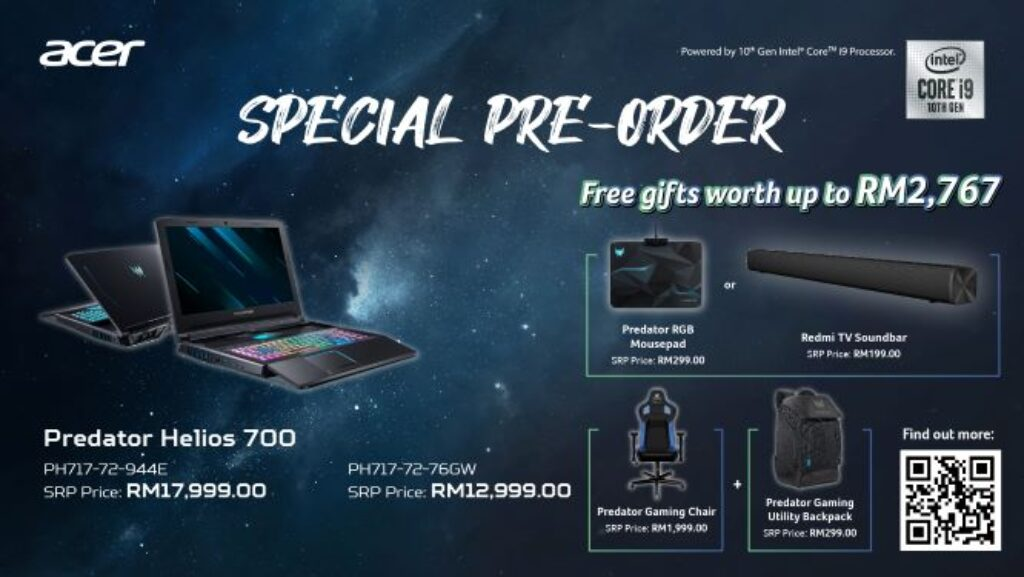 Acer Predator Helios 700 And Helios 300 With Intel 10th Gen Launched In Malaysia From RM4,599 22