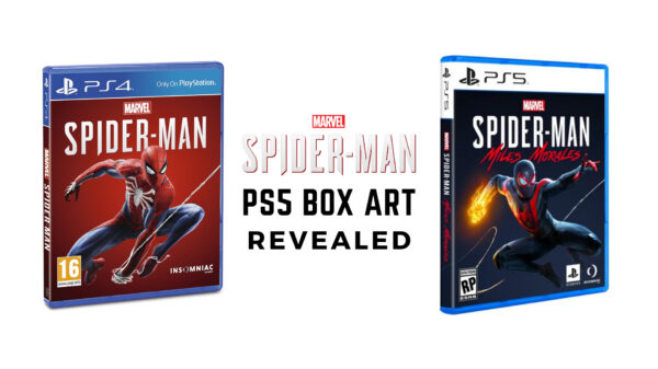 Spiderman PS5 box art revealed