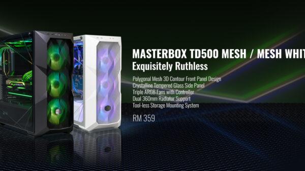 Cooler Master MasterBox TD500 Mesh