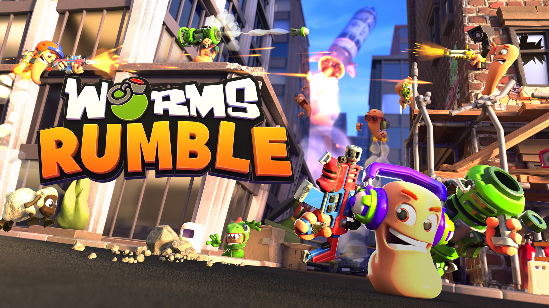 Worms Rumble: WORMS Are Back. It's Gonna Be A Blast ! 5