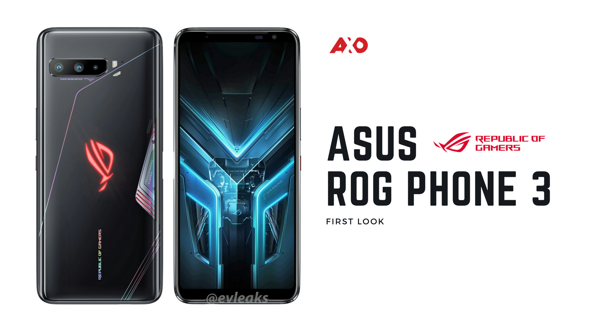 Here's A Clearer Look At The ASUS ROG Phone 3 With Snapdragon 865+ ...